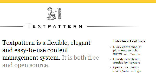 Text-Pattern