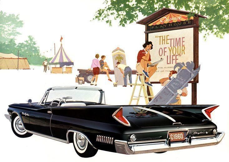 1960 Chrysler New Yorker in Formal Black