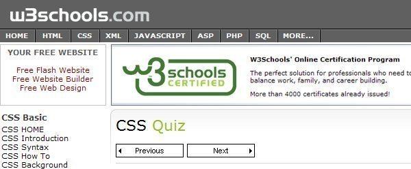 CSS-Quiz