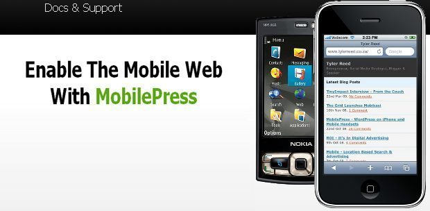 WordPress-as-a-Mobile-Site