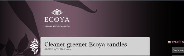 Ecoya-Blog