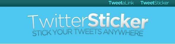 Twitter-Sticker