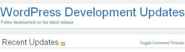 Wordpress-Development-update