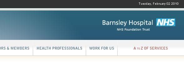 Barnsley Hospital NHS - the leading NHS trusts in the Great Britain