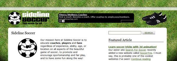Sideline-Soccer