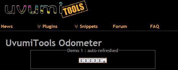 UvumiTools-Odometer