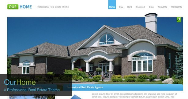 Our Home Professional real Estate Theme