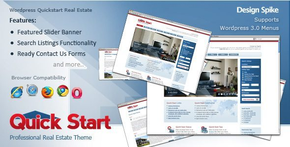 Quick Start Real Estate Theme