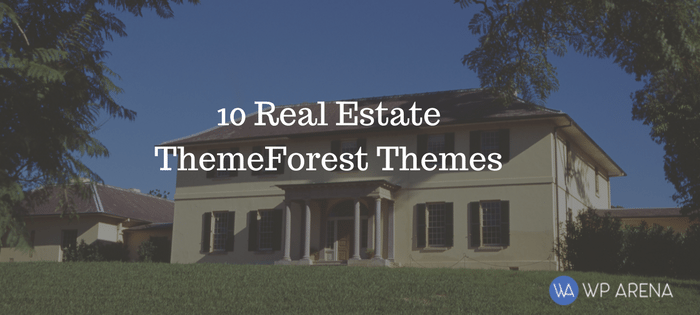 10 Real Estate WordPress Themes From ThemeForest