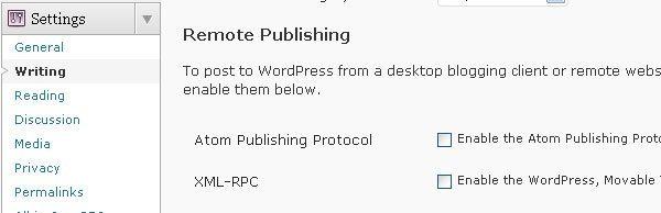 Remote Publishing