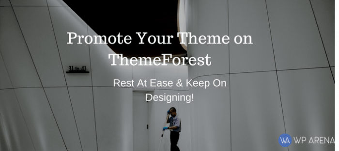 Promote My WordPress Theme