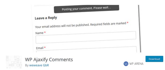 Ajax Comment Posting