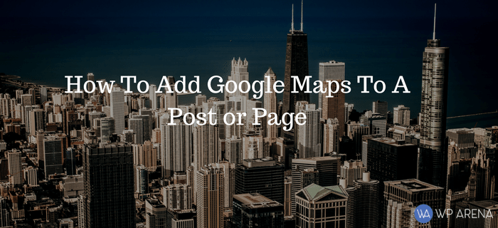 Add Google Maps