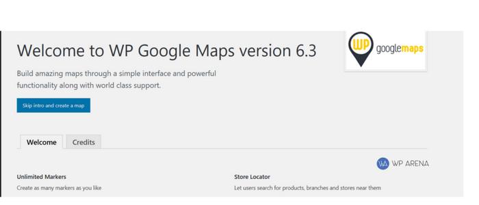 skip google map intro