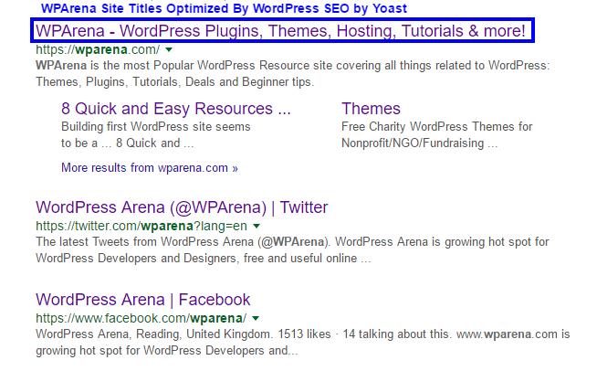 Improve WordPress Title Tags