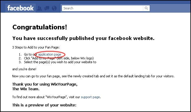 How to Create Facebook Templates with Wix - WPArena