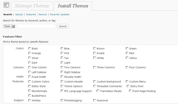 Search-Installed-Themes