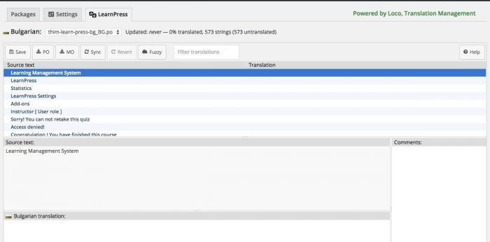 loco plugin translate