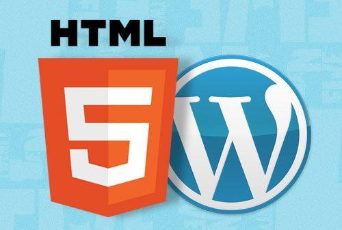 WordPress HTML5