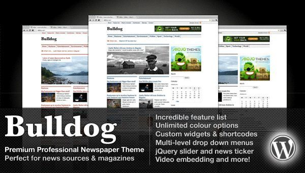 Bulldog Premium Professional WordPress