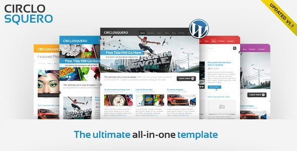 CircloSquero - Premium WordPress Theme