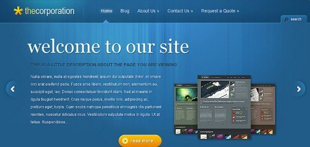 Corporate WebSites Powered By WordPress