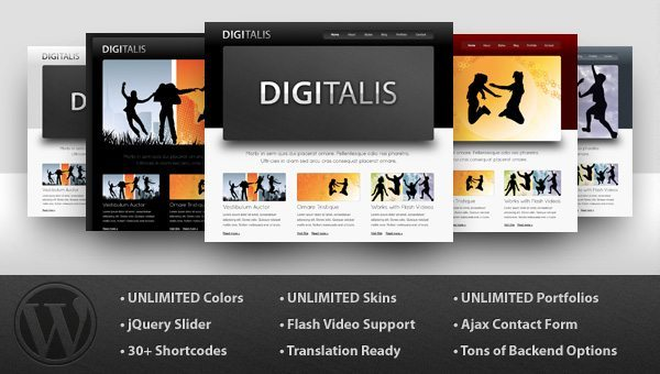 Digital Business theme
