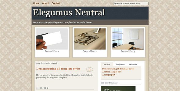 Elegumus Neutral Home