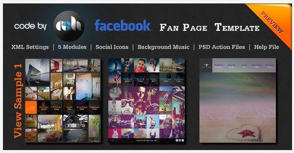 Facebook Templates Wix