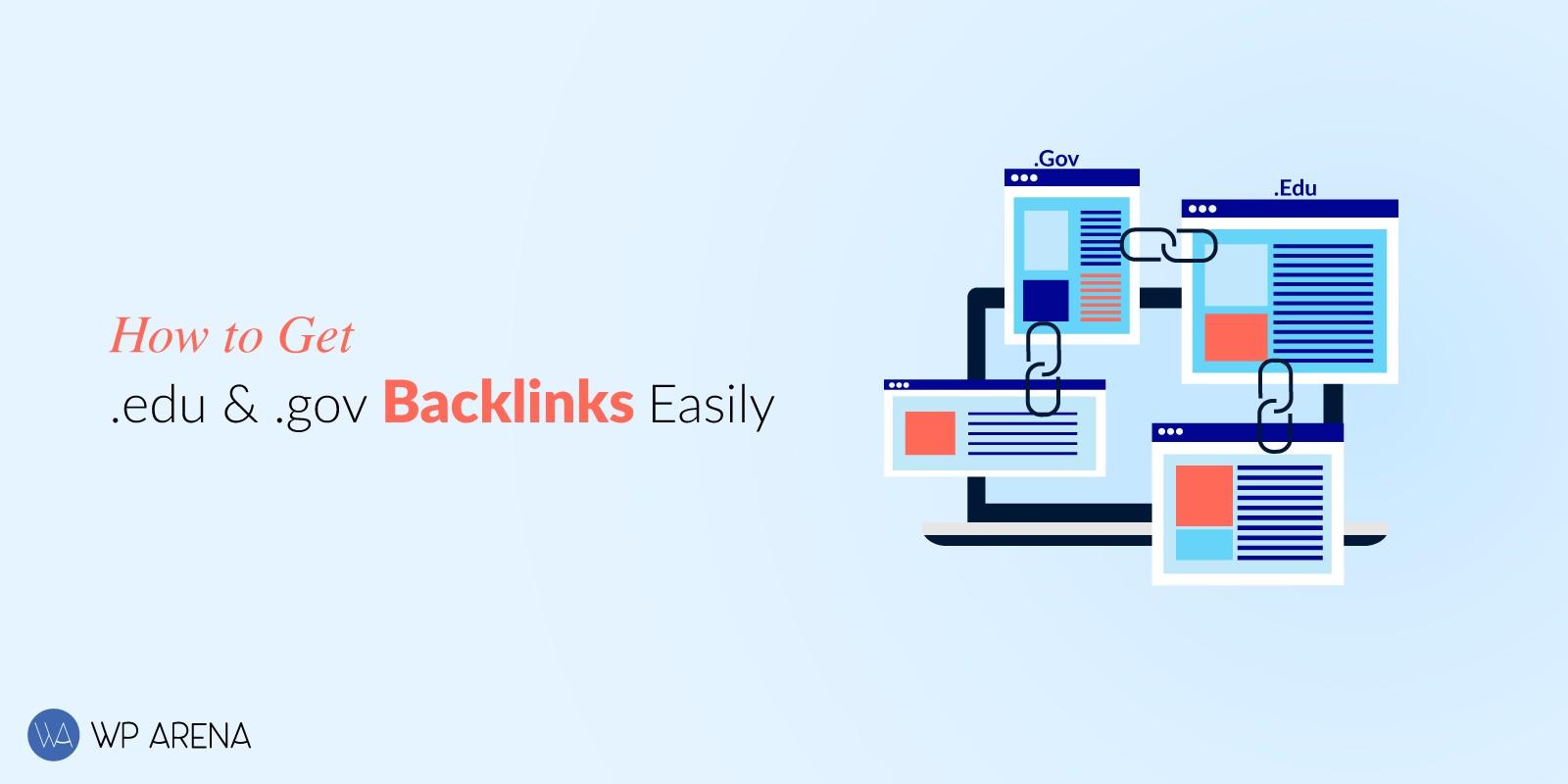 How to get Edu and Gov backlinks