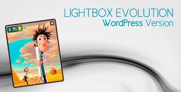 Lightbox Evolution WordPress