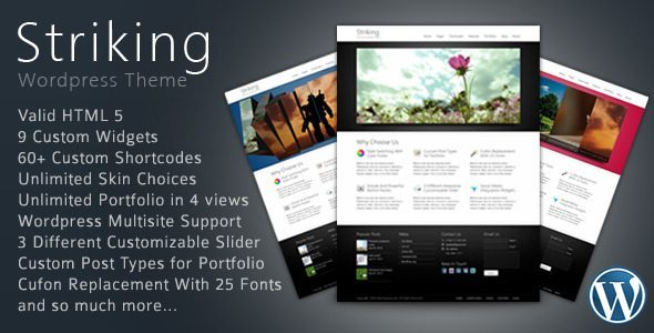 Striking Premium Corporate WP Theme