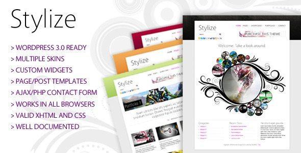 Stylize Blog WordPress Theme