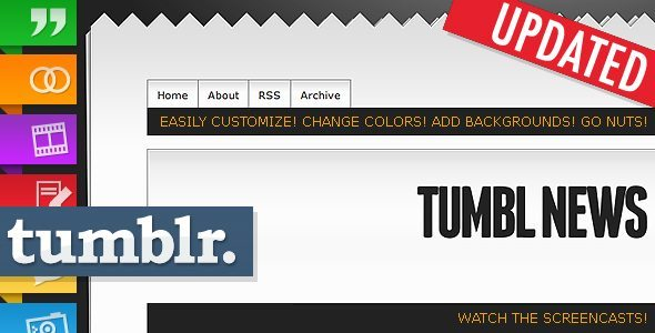 Tumbl News Tumblr Theme Template