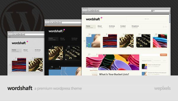 Wordshaft WordPress Theme
