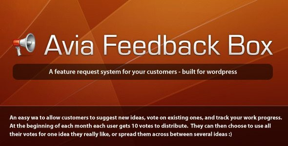Avia-Feedback-Box