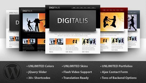 Digitalis Business WordPress Theme