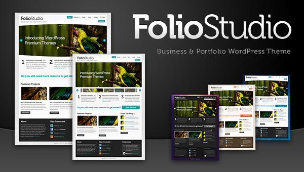 FolioStudio WordPress Magazine Theme