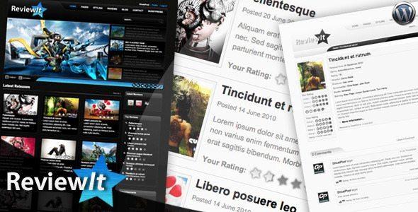 ReviewIt Review Community WordPress Theme