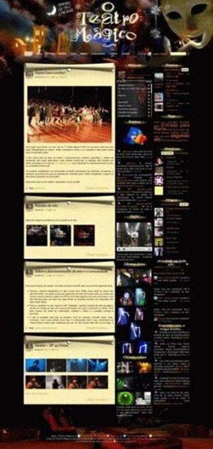 Teatro Magico BuddyPress theme