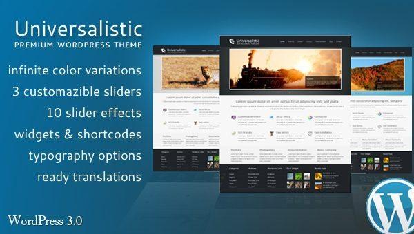 Universalistic WordPress Theme