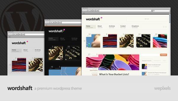 Wordshaft WordPress Theme