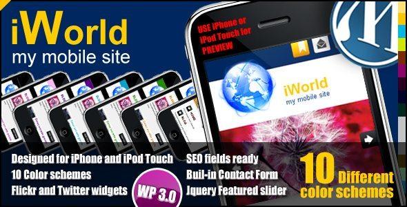 iWorld MobileWP Theme
