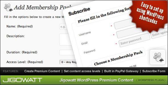 WordPress-Premium-Content