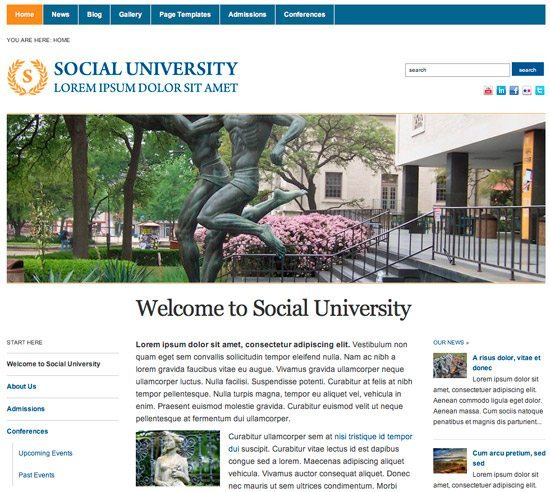 university-wptheme