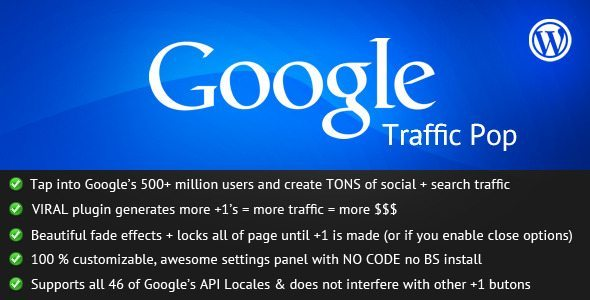 Google-Traffic-Pop-WordPress
