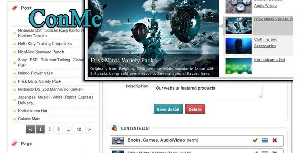 ConMe WordPress Plugin
