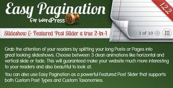 Easy Pagination WordPress
