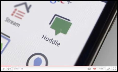 GooglePlus Huddle