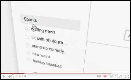 GooglePlus Sparks